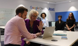 Atos inaugura un laboratorio de inteligencia artificial en Londres junto a  Google Cloud