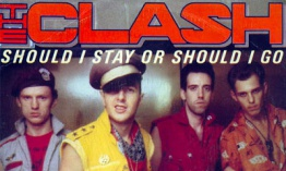 [Clásico Telúrico] The Clash - Should I Stay Or Should I Go (1982)