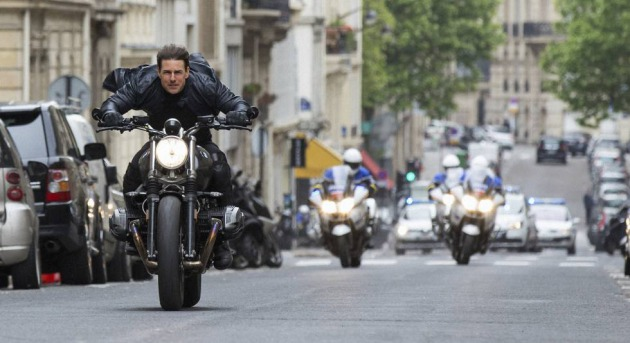 Tom Cruise en una escena de 'Mission Impossible: Fallout'.