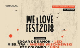 [Noticia] Cartel completo del We Love Fest 2018